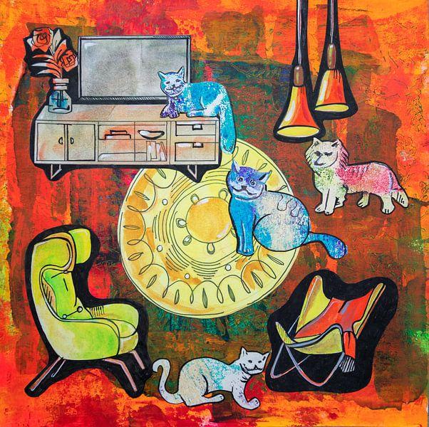 La vie des animaux de compagnie ( histoire d'une maison ) sur Ariadna de Raadt-Goldberg