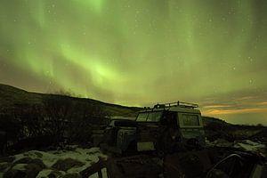 Aurora über Island