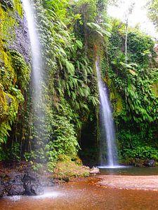 Wasserfall in Indonesien