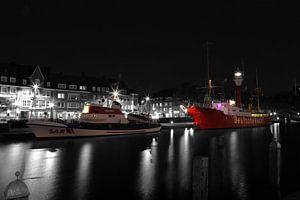 Leeftijd binnenhaven in Emden