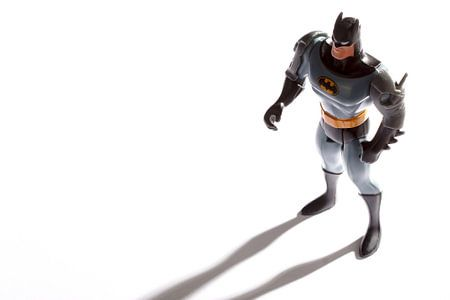 Batman staat sterk