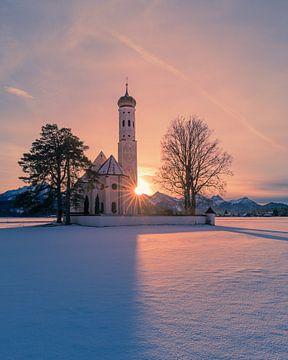 St. Coloman Kirche, Schwangau, Bayern, Deutschland