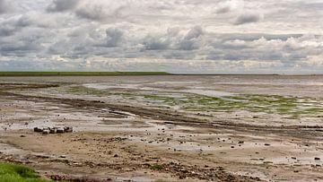 Waddendijk bij Nieuwe Sluis van