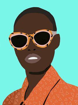 Look at me. von YOPIE illustraties