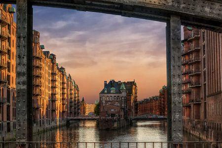 Hamburg Speicherstadt Wasserschloß von Carina Buchspies