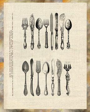 antique cutlery sur Ariadna de Raadt