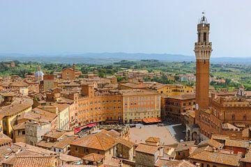 Siena, Toscane, Italië van Henk Meijer Photography
