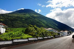 Azoren dorpsstraat
