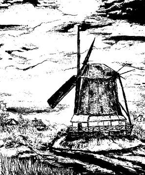 Windmolen van Eberhard Schmidt-Dranske