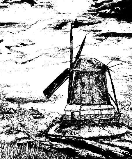 Windmühle von Eberhard Schmidt-Dranske