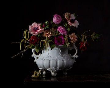 Bloemen passie kunst van Wietske Lavrijssen