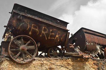 alte Mine Bonaire von Fraukje Vonk