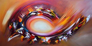 Abstraktes Licht von Gena Theheartofart