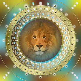 Sterrenbeeld Leeuw van Shirley Hoekstra