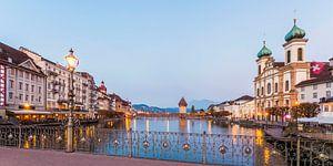 Cityscape of Lucerne in Switzerland