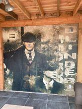 Klantfoto: Peaky Blinders van Bert Hooijer, als behang