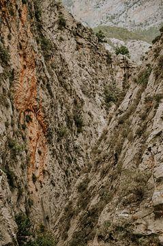 Schlucht in den Felsen   Türkei   von FotoMariek