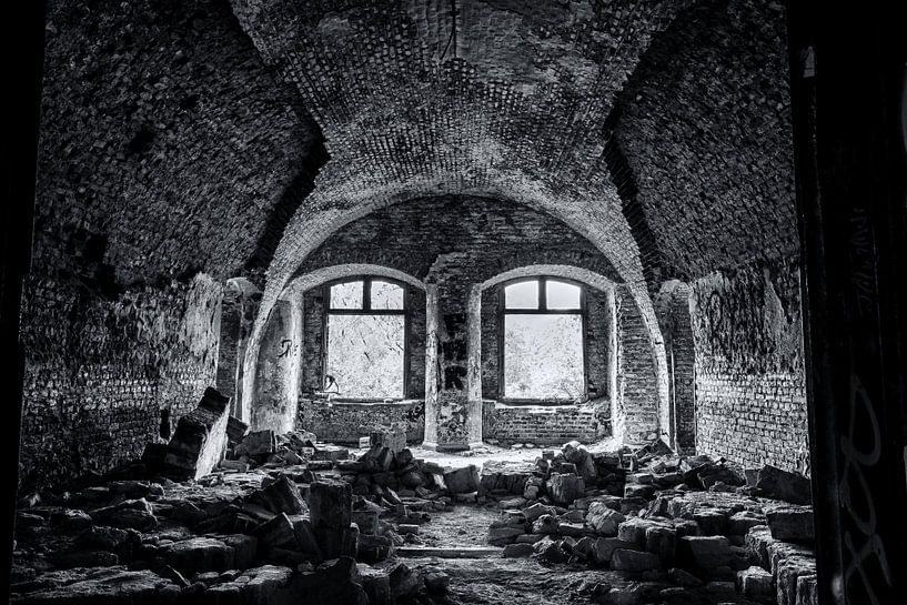 urbex des Zimmers in Fort Chatreuse von Ronenvief
