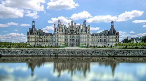Chateau Chambord Frankrijk van