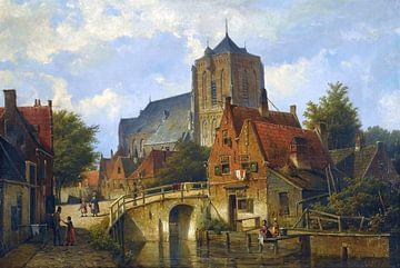 Willem Koekkoek, Aan het kanaal van Atelier Liesjes