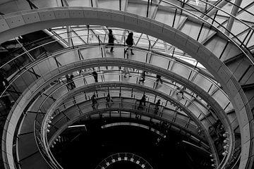 Runde Treppe von Wytze Plantenga