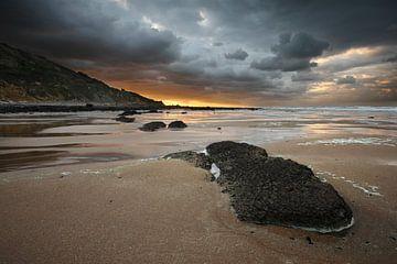 Normandisch strand von Mark Leeman