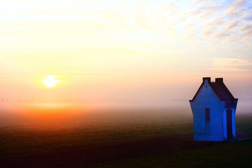 Guten morgen im Holländischer landschaft 1 sur Ernst van Voorst