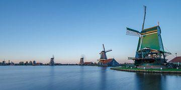 Dutch old windmills sur Menno Schaefer