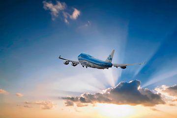 KL2020, Boeing 747-406, KLM PH-BFN, The City of Nairobi van Gert Hilbink