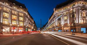 Regent Street in the blue hour