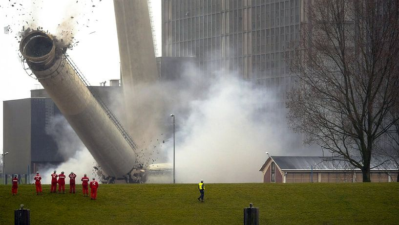Harculo Centrale IJsselcentrale Zwolle van Mart Gombert
