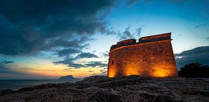 Castell Moraira Spanje van