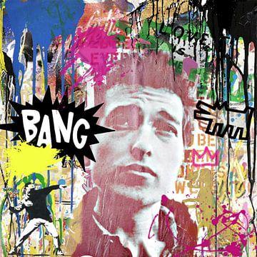 Motiv Bob Dylan - Trouble Edition von Felix von Altersheim