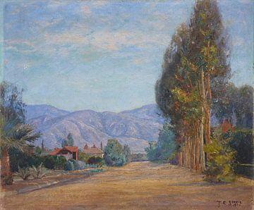 T C. Steele (Amerikaner, 1847-1926)~Hügel bei Redlands, Kalifornien