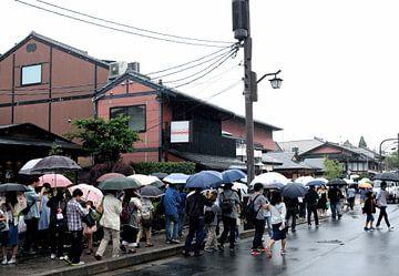 'Regenbui', kyoto- Japan van Martine Joanne