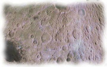 Maan opervlakte van Maurice Dawson