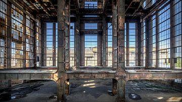 De verlaten fabriek van Frans Nijland