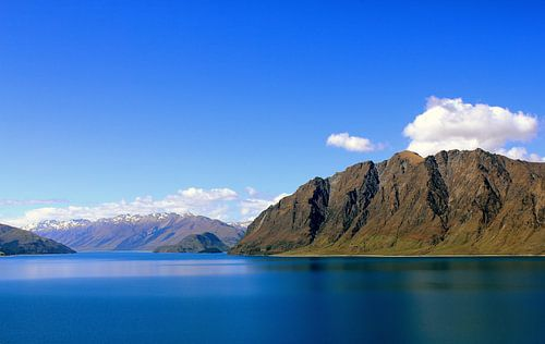 Mountain lake von Chris Rijnbeek