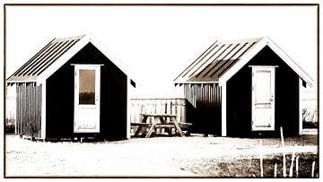 Kleine Hütten 2 von Kirsten Warner