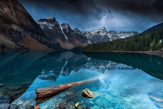 Lac Moraine  van Arnaud Bertrande