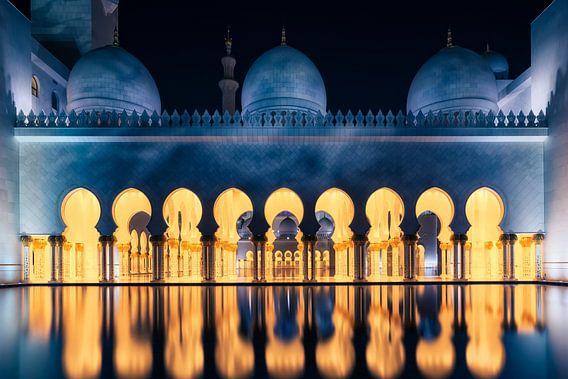 Grand Mosque Abu Dhabi van Martijn Kort