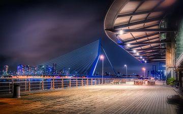 Pont Erasmus - Rotterdam sur Mart Houtman