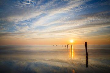 Lucht en zee van Werner Reins