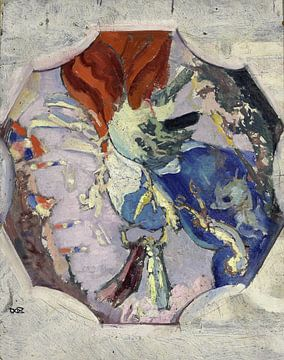 Sieg, rot, weiß, blau, Maurice Denis, 1918-1919 von Atelier Liesjes