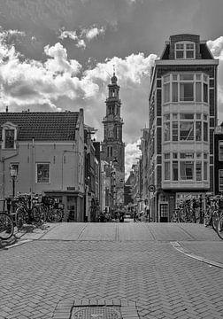 De mooiste toren van Amsterdam van Foto Amsterdam / Peter Bartelings