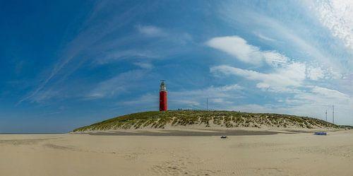 Vuurtoren Eielerland - Texel - panorama sur
