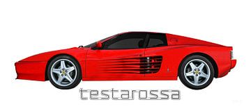 Ferrari Testarossa van aRi F. Huber