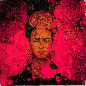 Frida Kahlo - Pink von Felix von Altersheim