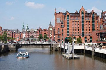 Hafenrathaus, Speicherstadt, Hafencity, Hambourg, Allemagne, Europe sur Torsten Krüger