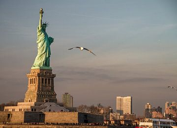 Statue de la Liberté, NYC sur Rosan Verbraak